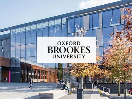 Date For Oxford Brooks University Speech