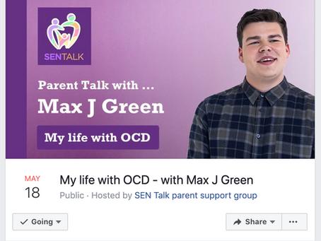 Max To Speak at SenTalk (Online Event)