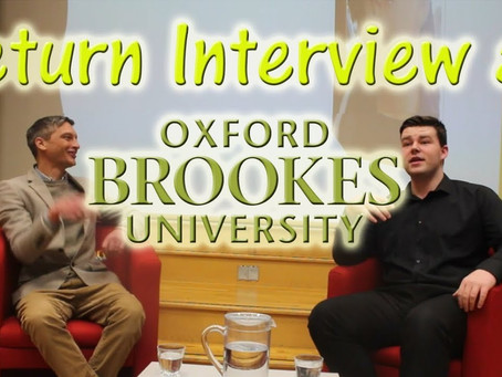 Oxford Brookes University Return - Video Is Now Available!