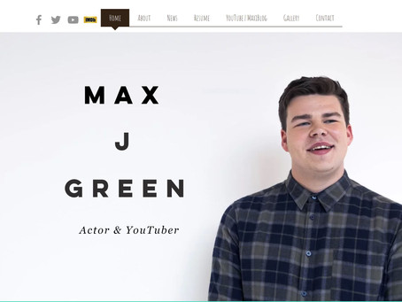 THE LAUNCH OF MAX J GREEN.COM