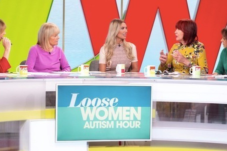 Max Attends First Ever Autism Hour In TV History on Loose Women!