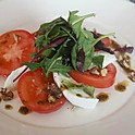 Mozzarella with Tomatos, Walnuts & Oil
