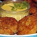 Crab Cakes with Hollandaise