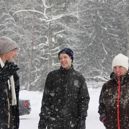 With Kari Nilsson, Tuorla IMG_6848.JPG