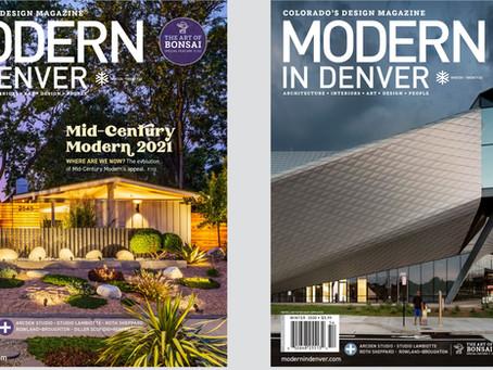 Modern in Denver Mag: Trees of Life
