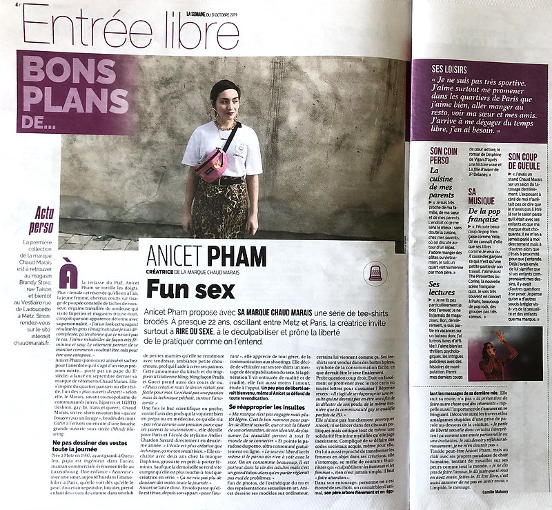 article La Semaine Chaud Marais