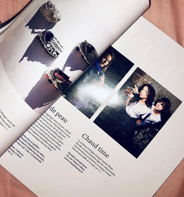 article Zut magazine Chaud Marais Lorraine