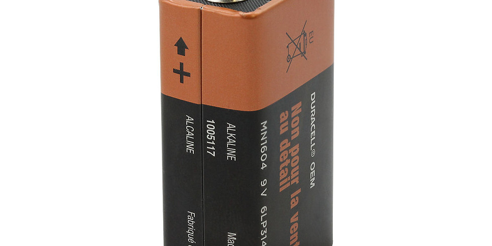 9-Volt Battery Giveaway