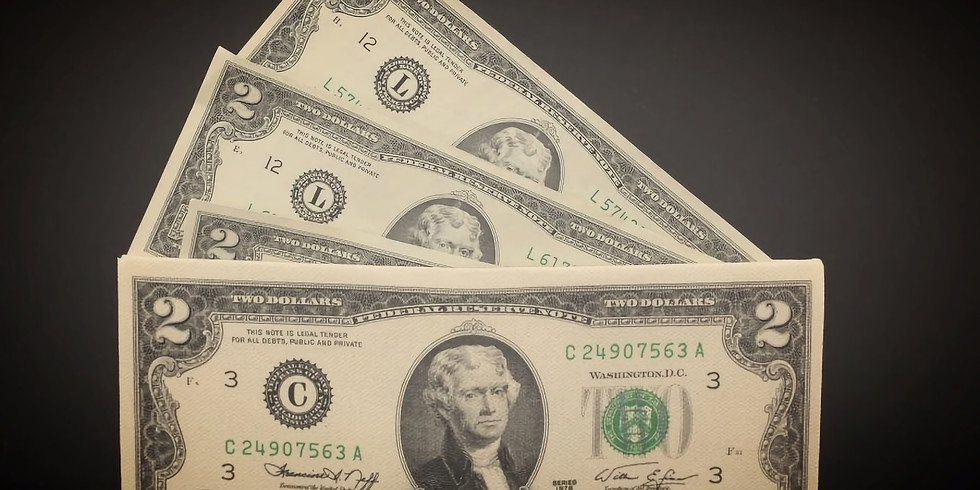 $2 Bills & Flags Giveaway