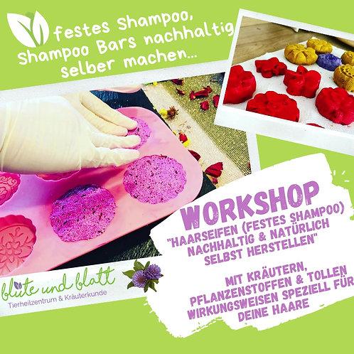 """Workshop - """"Haarseifen (festes Shampoo) selbst herstellen (Sa. der 31.10.2020)"""