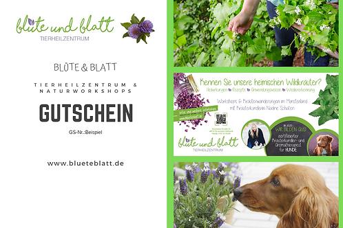 Geschenk-Gutschein Blüte & Blatt