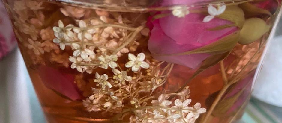 Wilde Blüten - Essig gesund und lecker