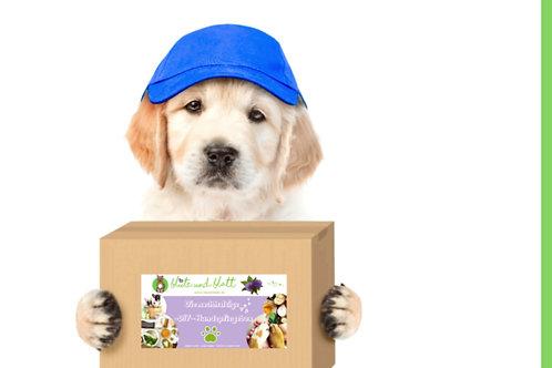 """""""Die nachhaltige -DIY- Hundepflegebox"""" kein Plastik, keine Chemie"""