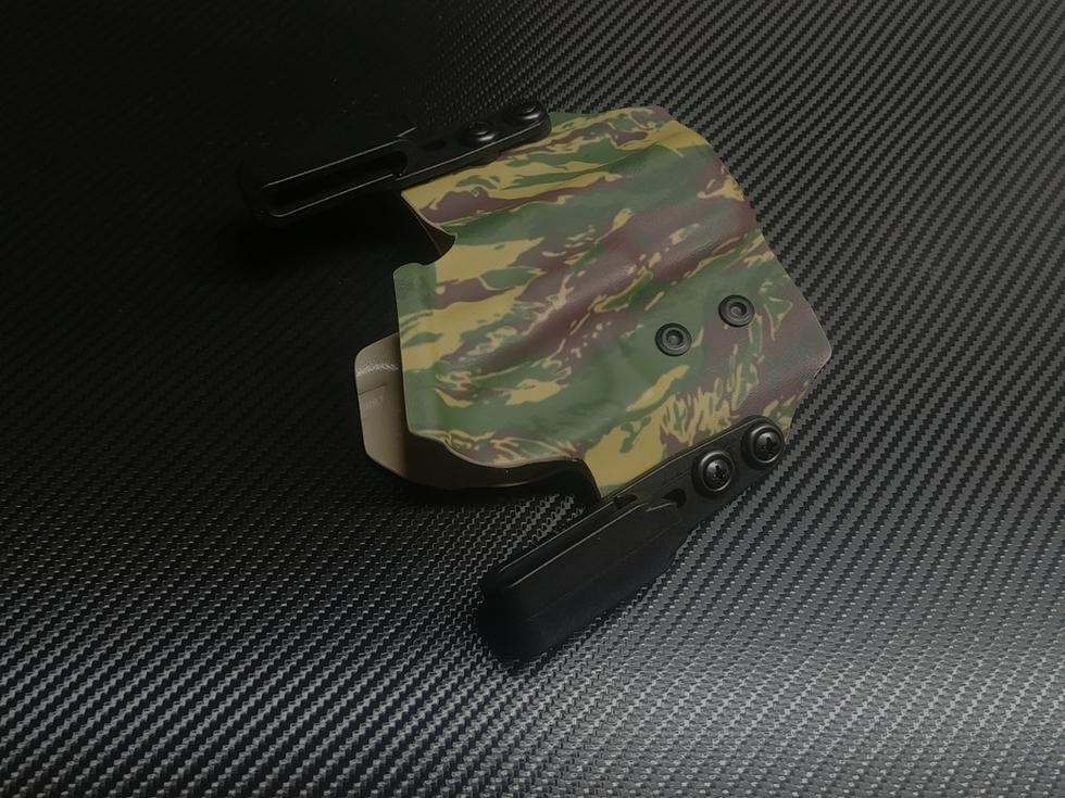 Glock 23 Dual Clip IWB in Rhodesian Brus