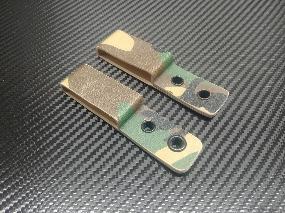 Custom Kydex Belt Loops