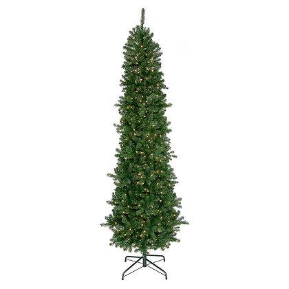 Hudson Valley Slim 9' Permanent Christmas Tree (550 CL)