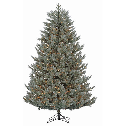 Blue Ridge Fir 7.5' Permanent Christmas Tree (1,300 Staylit CL)
