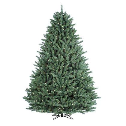 Canyon Spruce 7.5' Permanent Christmas Tree (1,300 Staylit MULTI)
