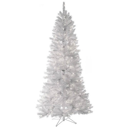 Pine Tree White 7' Permanent Christmas Tree (400 CL)