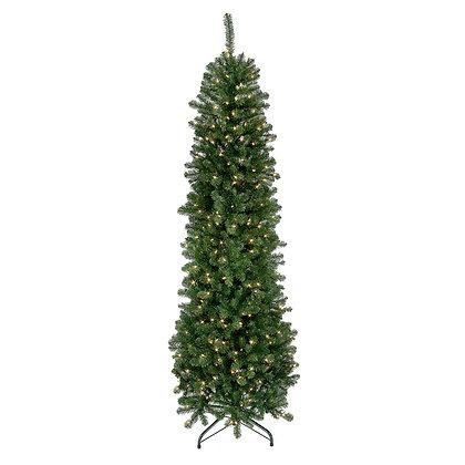 Hudson Valley Slim 7.5' Permanent Christmas Tree (400 CL)