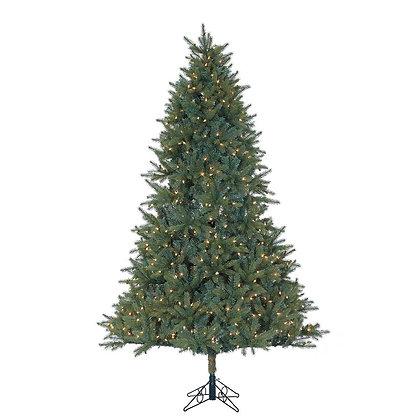 Ashford Spruce 9' Permanent Christmas Tree (1,100 Staylit MULTI)