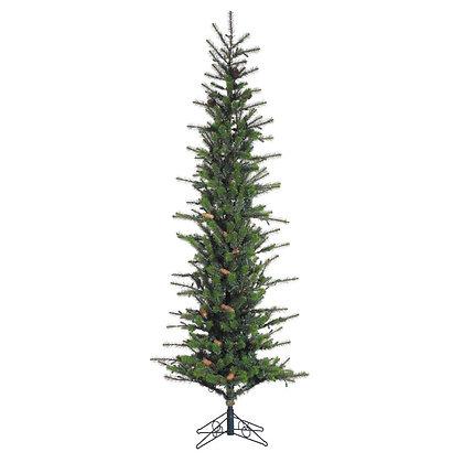 Redmond Slim 7.5' Permanent Christmas Tree (400 Staylit CL)