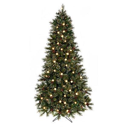 Cottonwood 7.5' Permanent Christmas Tree (G40 CL)