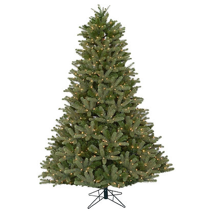Douglas Fir Full 10' Permanent Christmas Tree (1,650 Staylit CL)