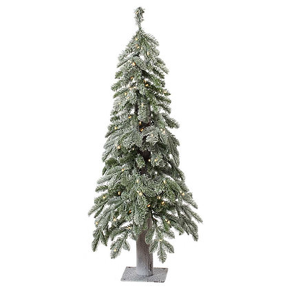 Alpine Frost 4' Permanent Christmas Tree (100 CL)