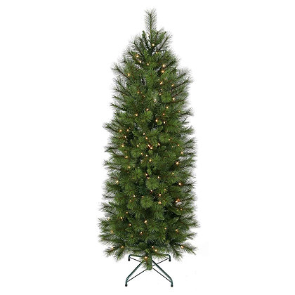 Brussels Slim 7.5' Permanent Christmas Tree (400 CL)