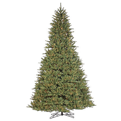 St. Ives Spruce Slim 7.5' Permanent Christmas Tree (650 Staylit CL)