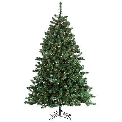 Georgia Fir 7.5' Permanent Christmas Tree (700 MULTI)