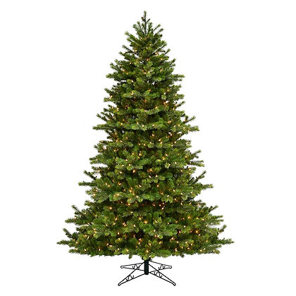 Leeland Fir 7.5' Permanent Christmas Tree (700 Staylit CL)