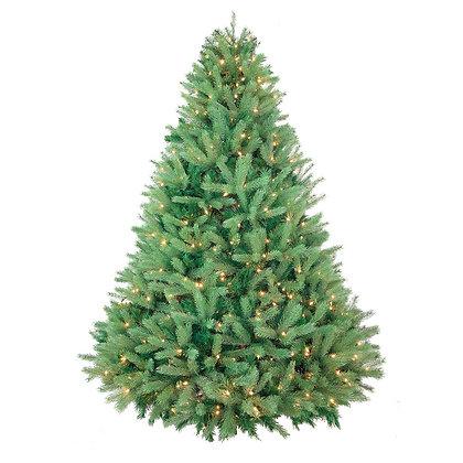 Teton Fir 7.5' Permanent Christmas Tree (1,200 Staylit CL)