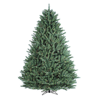 Canyon Spruce 9' Permanent Christmas Tree (1,400 Staylit CL)