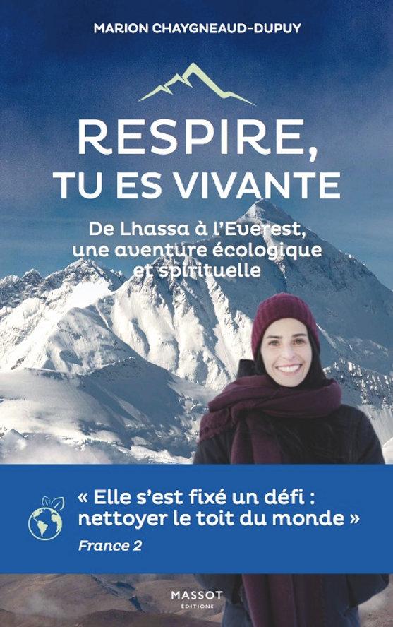Fondation Iris, couverture livre Marion Chaygneaud-Dupuy, everest, nettoyer le toit du monde