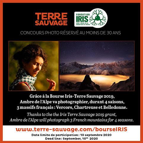 BOURSE IRIS 2020