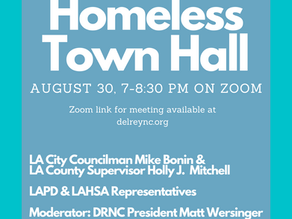 Del Rey Homeless Town Hall