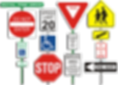 street and safety signs - Beacon Images
