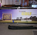 monsoon outdoor banner frame sign rainbow ridge golf course