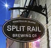 split rail brewin co custom carved sign