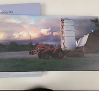 Tractor canvas print 2