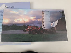 Tractor canvas print 2