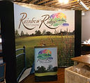 rainbow ridge golf course portable coyote display system and podium