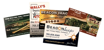 business cards by Beacon Images