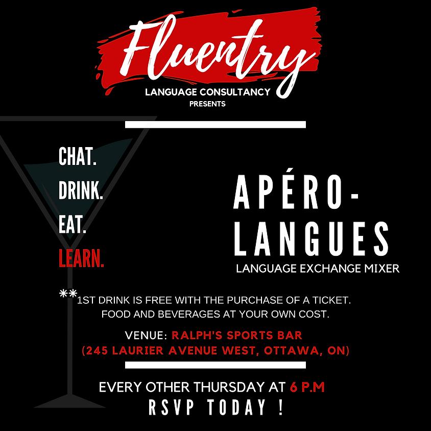 Apéro-Langues   Language Exchange Mixer