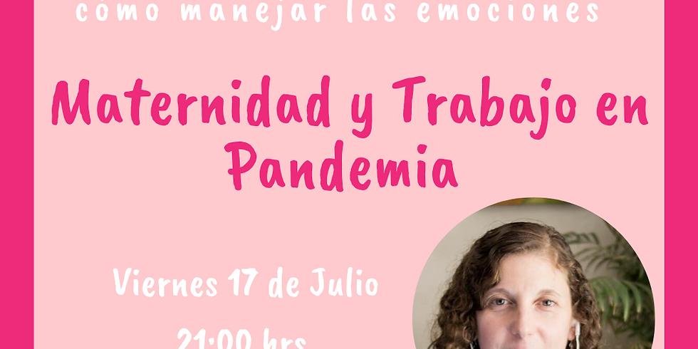 Mami´s Night: Conversatorio Maternidad y Trabajo en Pandemia