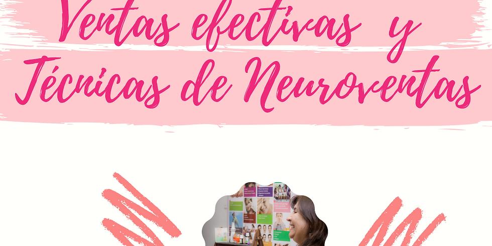 Curso Ventas efectivas  y Técnicas de Neuroventas