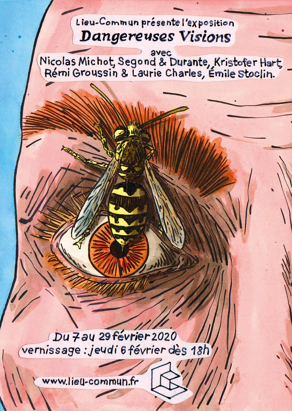exposition dangereuses vision a Lieu-commun Toulouse