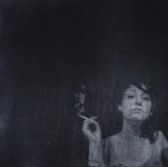 Smoking girl.    2012.